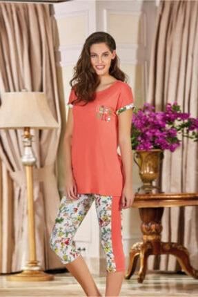 Berrak Kadın Oranj Pijama Takımı