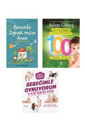 Timaş Yayınları Bebeğimle Oynuyorum-benimle Oynar Mısın Anne-0-6 Yaş Çocuk Eğitiminde 100 Temel Kural-3 Kitap Set
