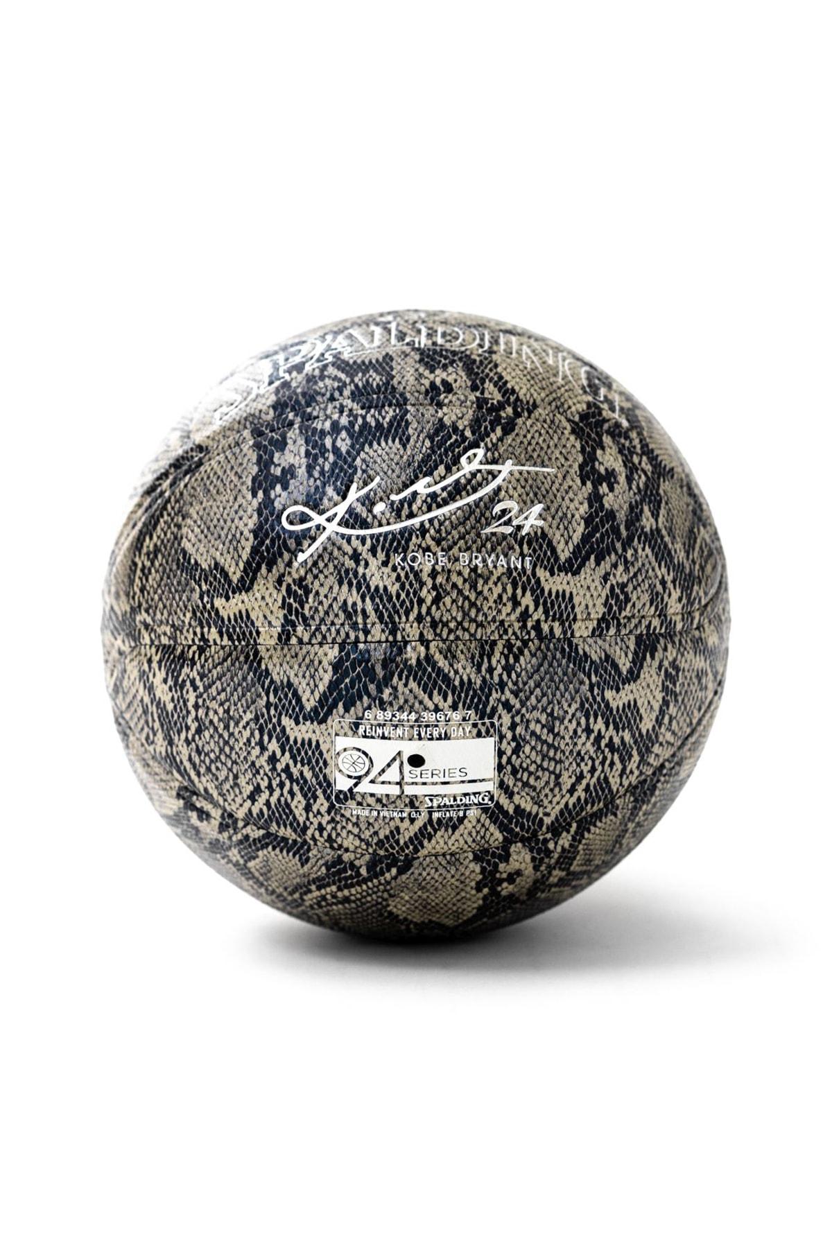 SPALDING Basket Topu 2020 Silver Kobe Bryant Snake 24K SZ7 (76636Z)