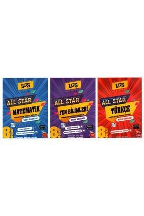 Newton Yayınları 8. Sınıf All Star Matematik + Fen Bilimleri + Türkçe Soru Bankası Seti 3 Kitap