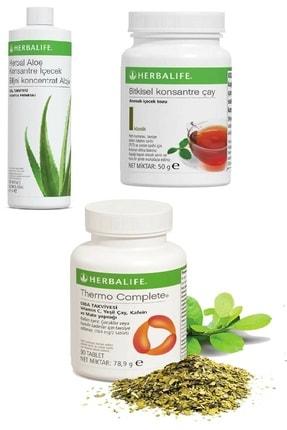 Herbalife Set Aloe Suyu  Klasik 50 Gr Çay Thermo Complete