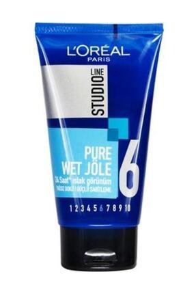 L'Oreal Paris L'oréal Paris Studio Line Pure Wet  24 Saat Islak Görünüm Güçlü Sabitleme Jöle