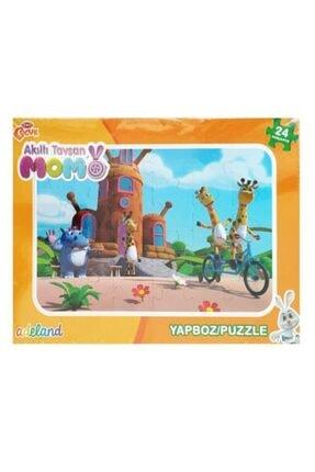 Adel Akıllı Tavşan Momo 24 Parça Frame Yapboz 140452