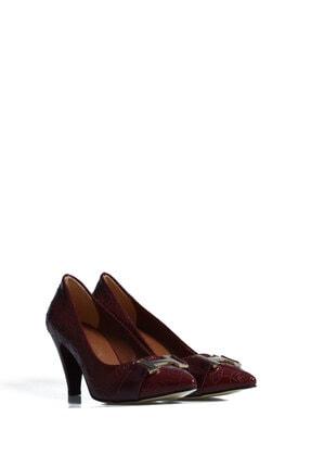 Pierre Cardin Kadın Bordo Günlük Topuklu Ayakkabı 32130