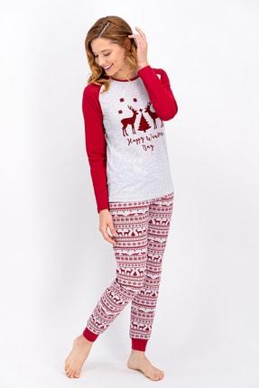 ROLY POLY Karamelanj Happy Winter Day Kadın Pijama Takımı