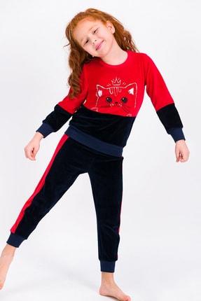 ROLY POLY Kırmızı Queen Cat Kız Çocuk Eşofman Takımıı
