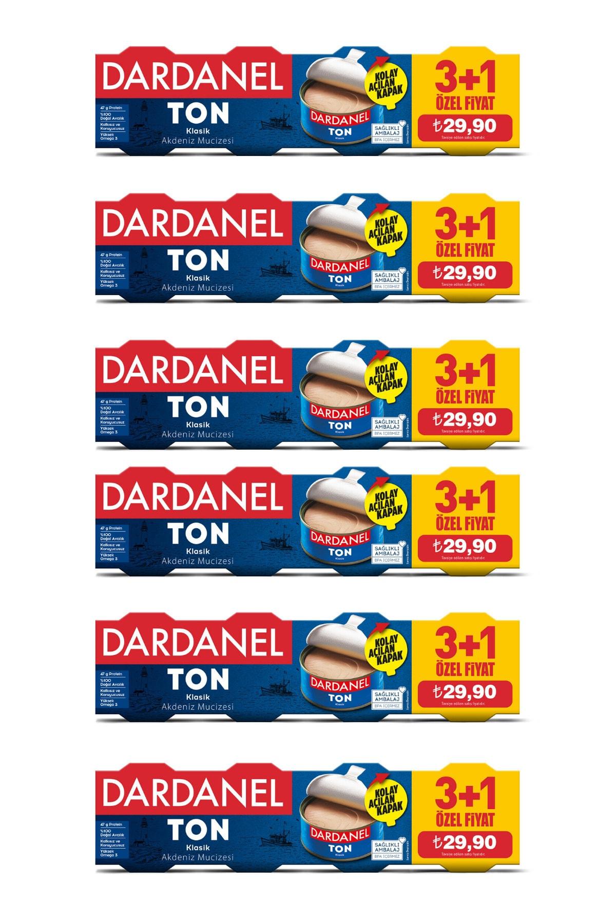 Dardanel 75 gr x 4 Ton Balığı (3+1) 6'lı Paket 1