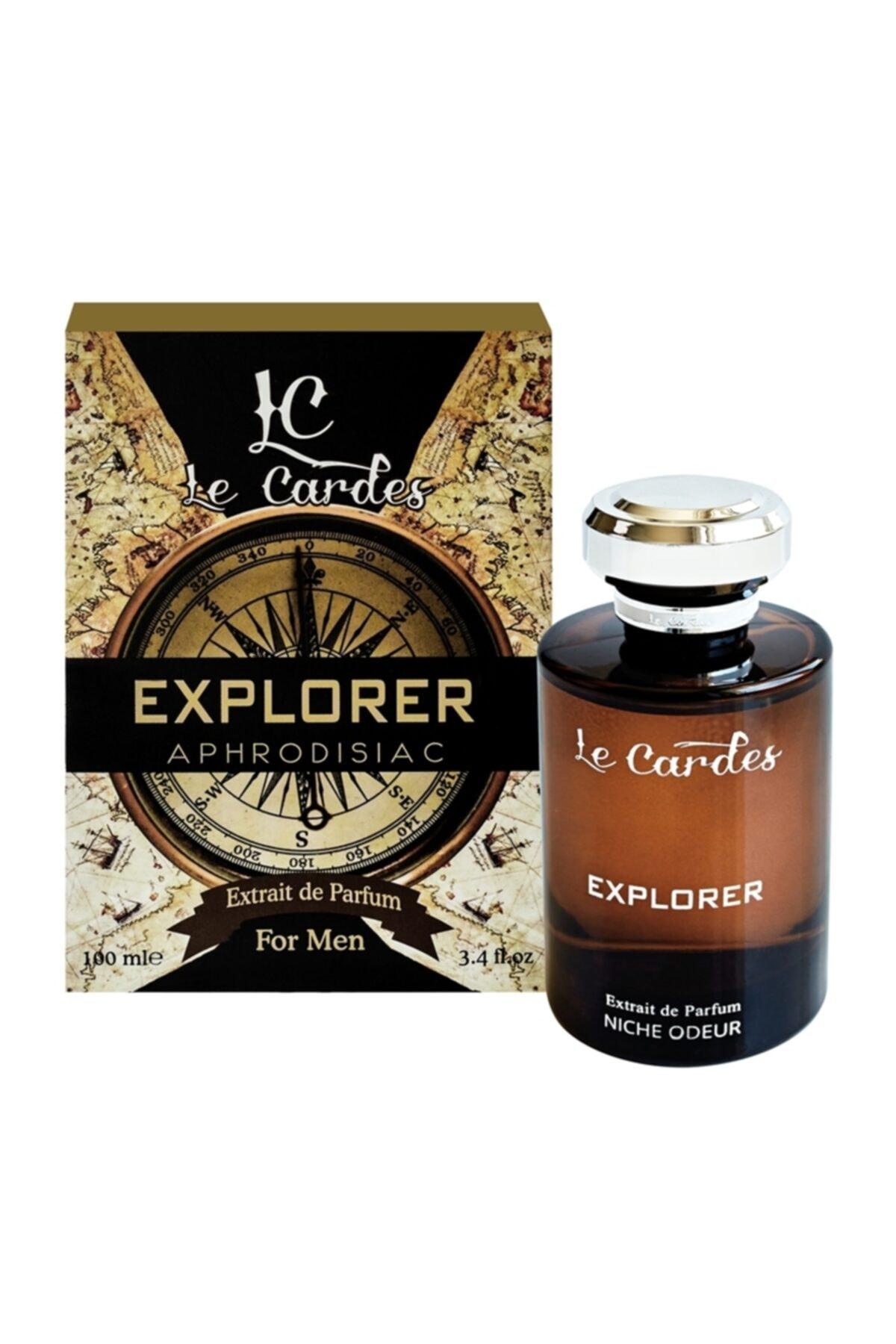 Le Cardes Explorer Afrodizyak Extrait De Parfüm 100 ml Erkek Parfümü 1
