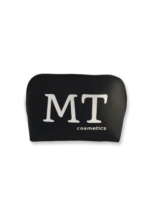 Makeuptime Mt Mat Deri Makyaj Çantası Siyah