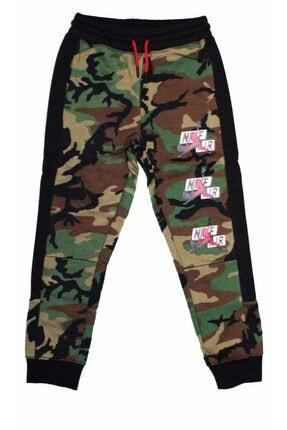 Nike Unısex Çocuk Askeri Yeşil Eşofman Altı 957530-E4F