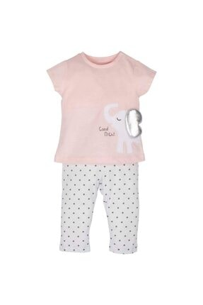 İDİL BABY Good Night Baskılı Pijama Takımı