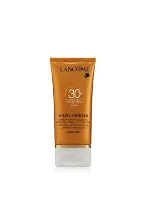 Lancome Soleil Bronzer Güneş Koruyucu Yüz Kremi Spf 30 50 ml  3605533155516