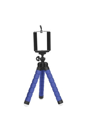 Yamantic Mavi Ahtapot Kamera Cep Telefonu Tripodu