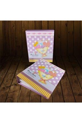 FIRSATAVM Mor Renkli Kutulu Kız Bebek Albümü