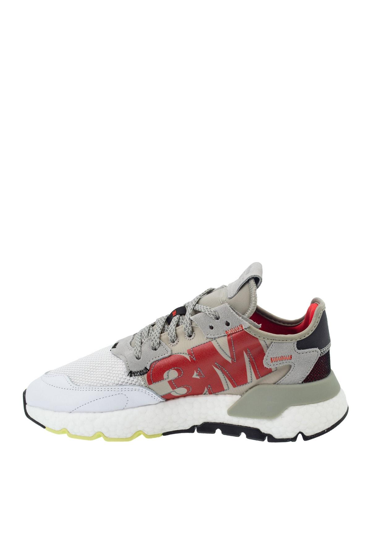 adidas Nite Jogger Erkek Gri Spor Ayakkabı (EF5409) 2