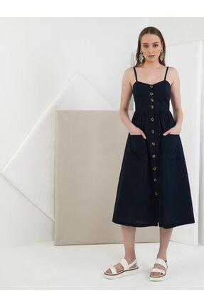 Colin's KADIN Slim Fit Kadın Lacivert Elbise CL1048965