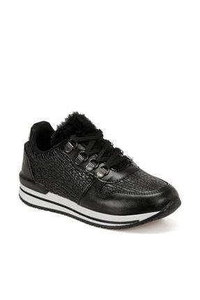 Polaris Kız Çocuk Siyah Sneaker