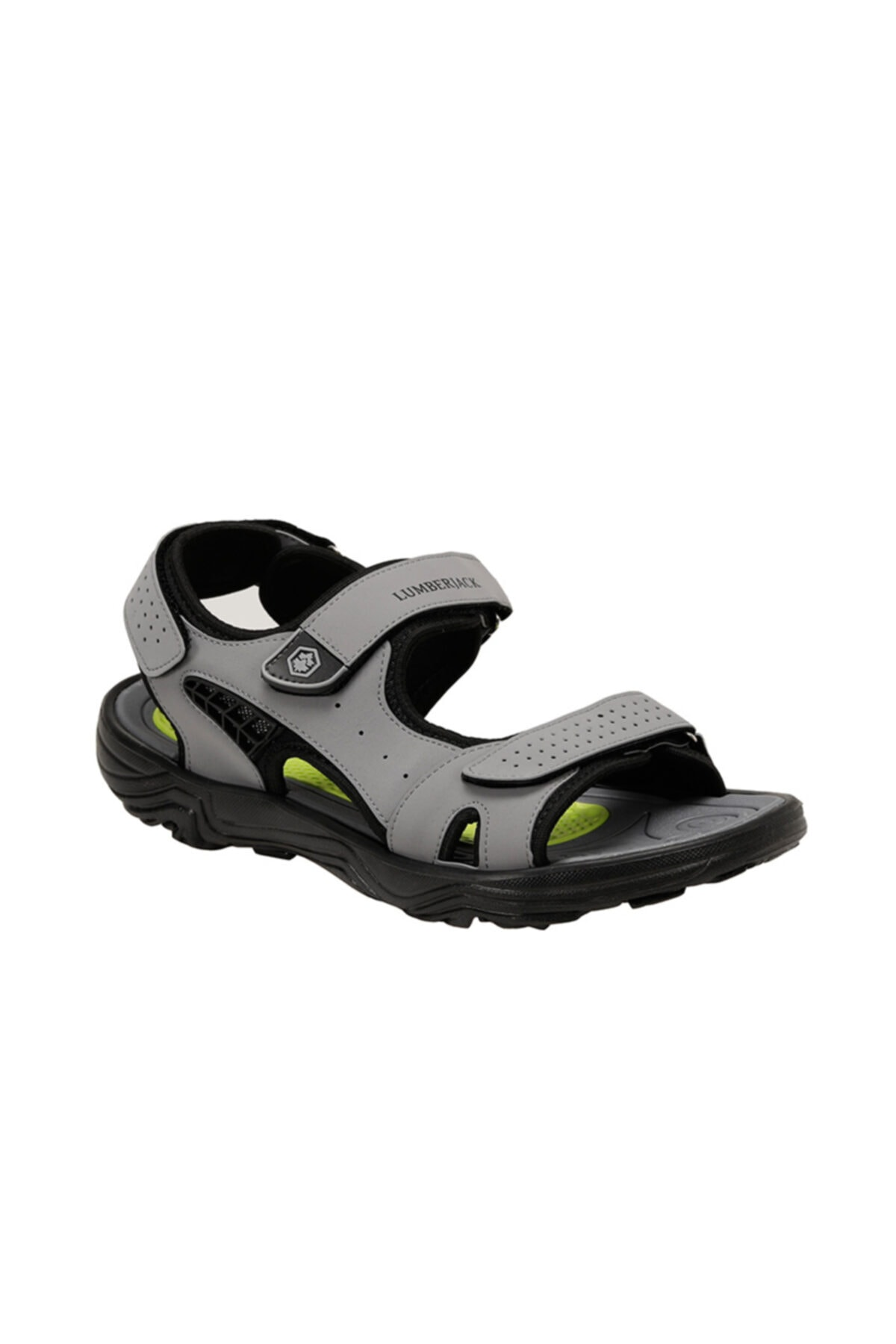 lumberjack KASS Gri Erkek Sandalet 100501717 1