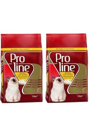 Pro Line Yavru Kedi Maması Tavuklu 1,5 kg 2 adet