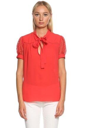 ANDREW GN Kadın Kırmızı Bluz