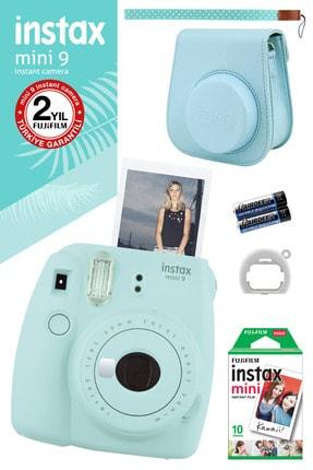Fujifilm Instax Mini 9 Açık Mavi Fotoğraf Makinesi Ve Hediye Seti 3 /