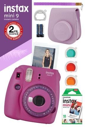 Fujifilm Instax mini 9 Mor Fotoğraf Makinesi ve Hediye Seti 3