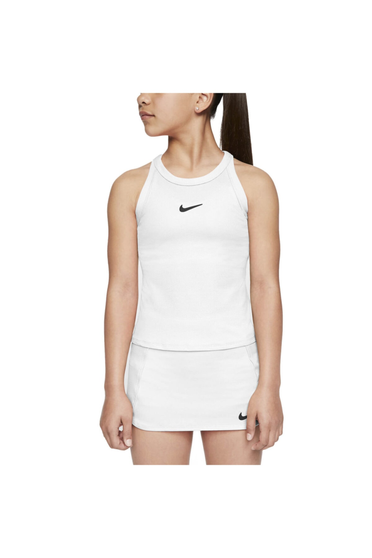 Nike Cj0946-100 G Nkct Dry Tank Çocuk Tenis Atlet 1