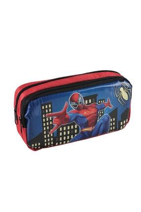 Nubutik's Erkek Çocuk Spiderman Desenli Çift Gözlü Kalemlik
