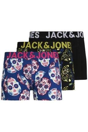 Jack & Jones Jack Jones Jaccolorfull 3'lü Boxer 12171604