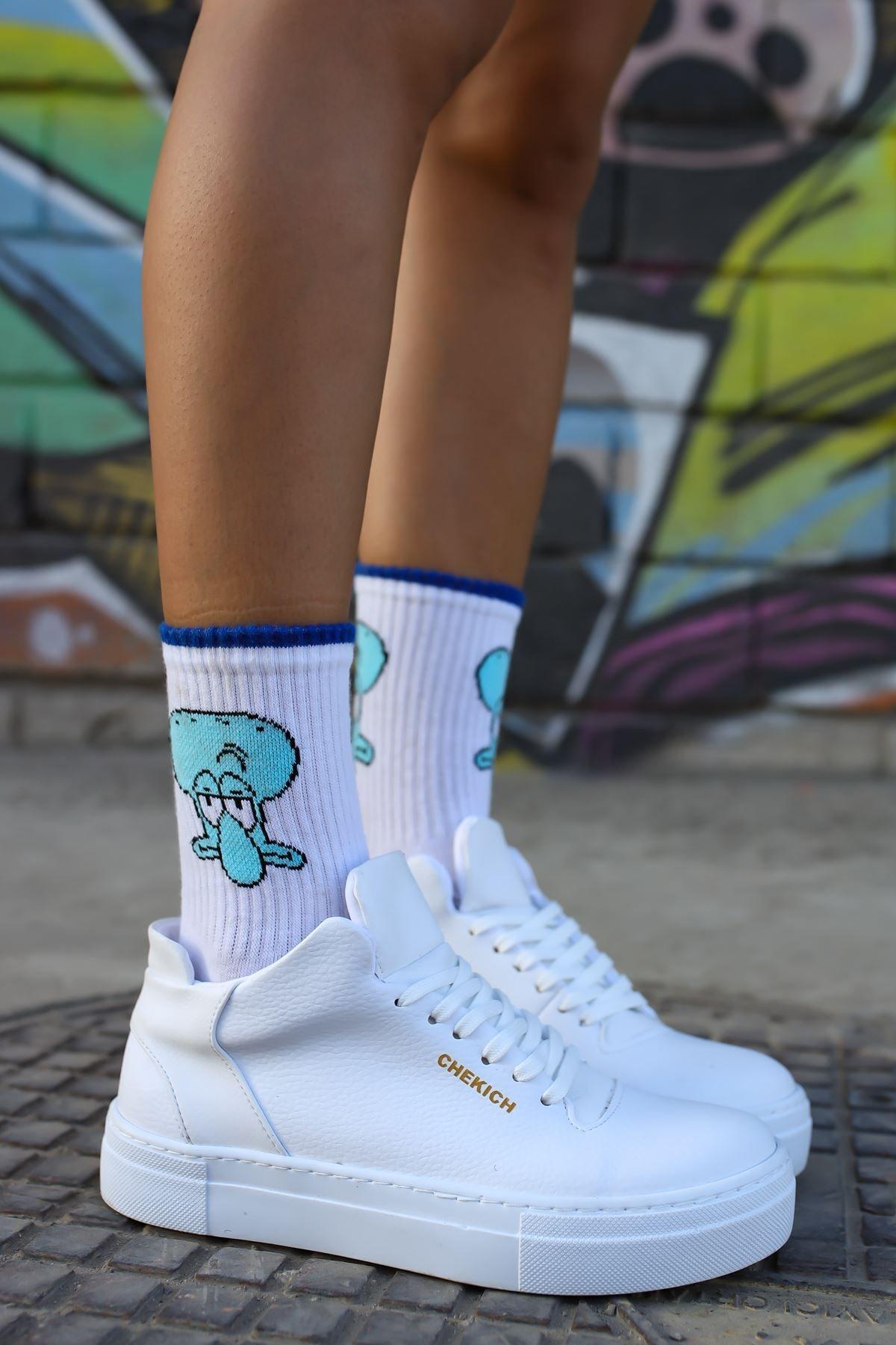 Chekich Ch004 Bt Kadın Ayakkabı Beyaz 1