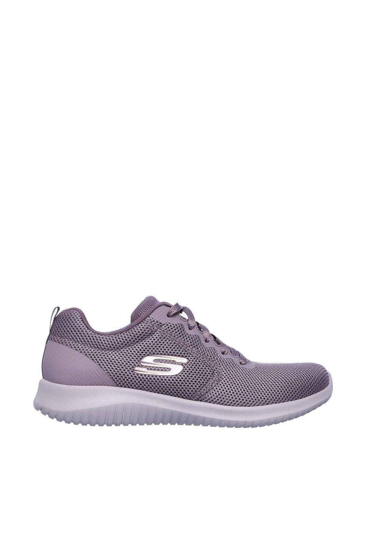 SKECHERS Kadın Gri Ultra Flex Free Spirits Spor Ayakkabı 1