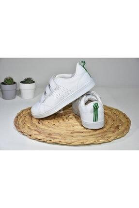 I COOL Çocuk Beyaz Bantlı Spor Ayakkabı