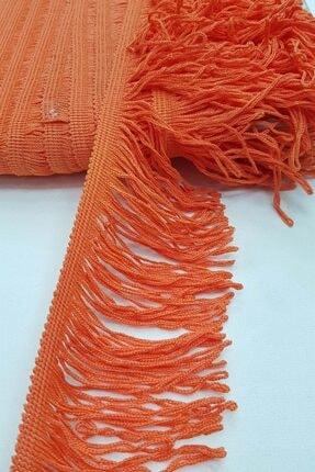 Hobigram Turuncu Saçak Şerit Püskül 10 cm 1 mt