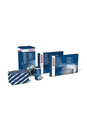 Bosch Uzmanparça Seat Cordoba 1.4 Tdı Amf Dizel Filtre Seti 2002-2005 hava+yağ+yakıt+standart Polen