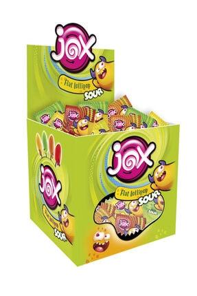 JOX Sour Meyve Aromalı Yassı Lolipop 8 g x 120 Adet