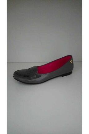 Barbie Kız Çocuk Gri Lux Klasik Ayakkabı