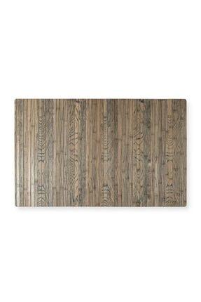 Lorin Banyo Kapı ve Çok Amaçlı Bambu Kaydırmaz Tabanlı Paspas