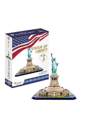 Neco Cubicfun 3d Puzzle 39 Parça Özgürlük Anıtı