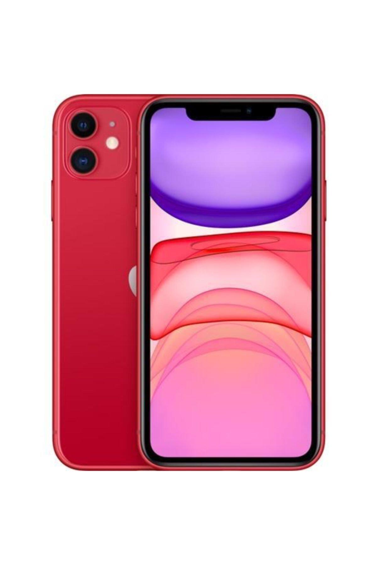 Apple iPhone 11 64GB (PRODUCT)RED Cep Telefonu (Apple Türkiye Garantili) Aksesuarlı Kutu 1