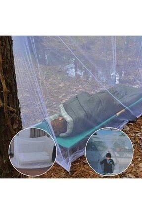 rennway Kamp Balkon Bebek Park Yatak Beşik Çift Kişilik Cibinlik Tülü Pileli Hazır Çantalı Pratik Sineklik