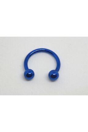 Işıl Işıl Cerrahi Çelik Mavi Renkli Parlak, Kulak Dudak Burun Septum Tragus Helix Piercing
