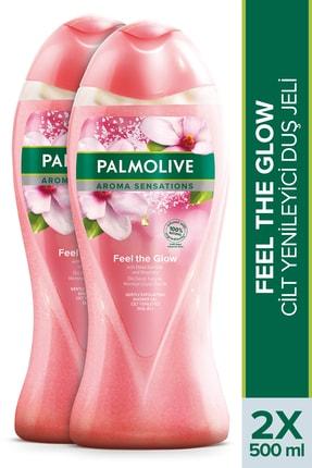 Palmolive Aroma Sensations Feel Glow Ölü Deniz Tuzu ve Manolya Çiçeği Özü Cilt Yenileyici Duş Jeli 500 ml x 2
