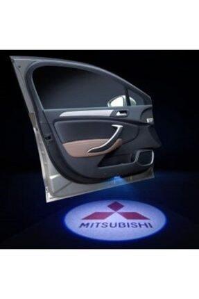 Apex Mitsubishi Logolu Kapı Altı Hayalet Logo 2 Adet