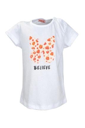 Zeyland Kız Çocuk Beyaz T-Shirt