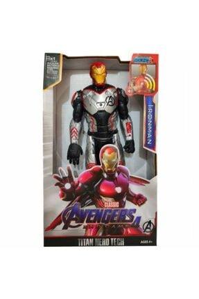 Mashotrend Ironman Figür Işıklı Avengers Iron Man Oyuncak Figür Demir Adam Avengers 4 Figürü Oyuncak Figür