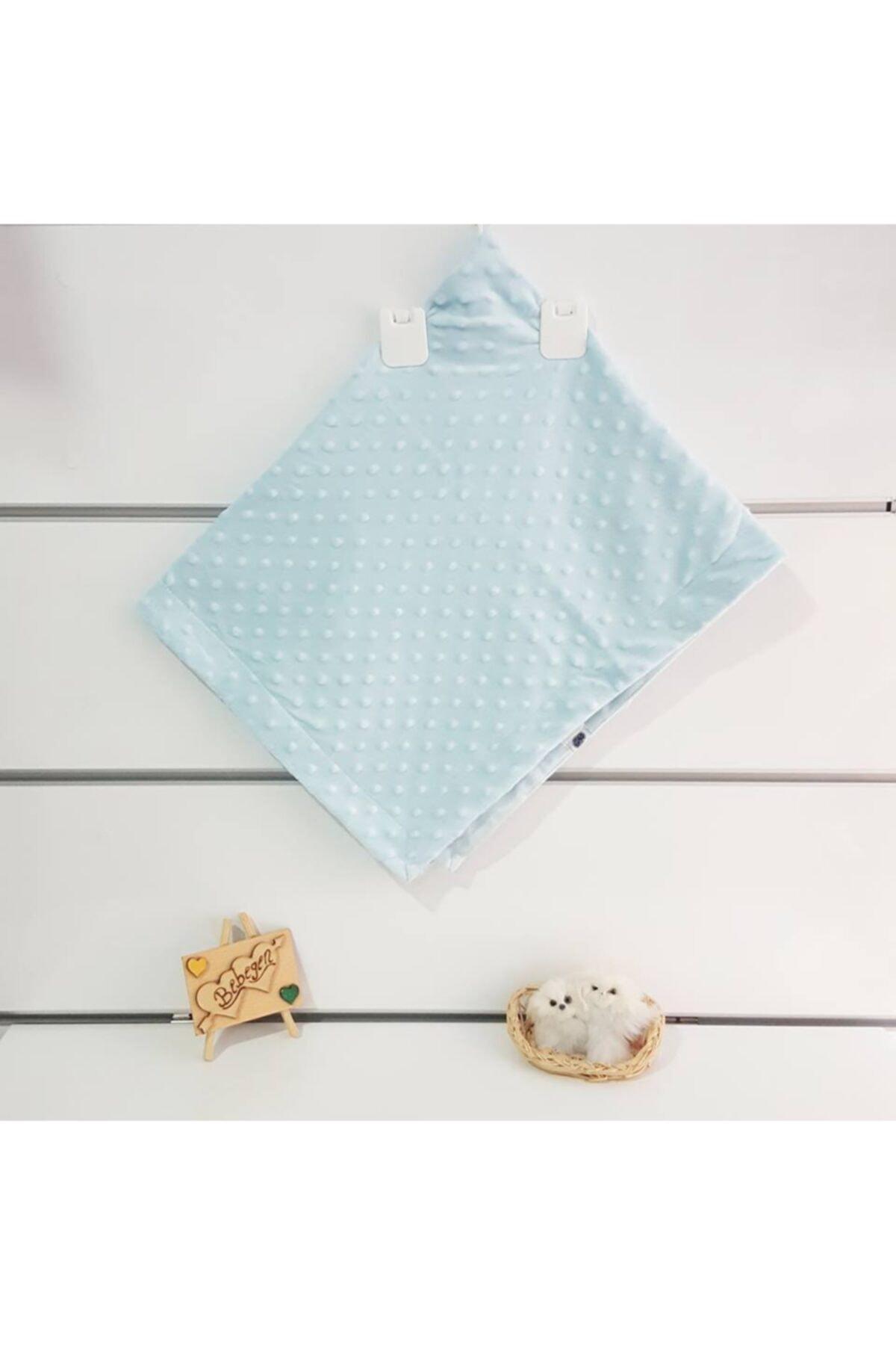 bebegen Bebek Mavi Lüx Bebek Nohut Battaniye 1