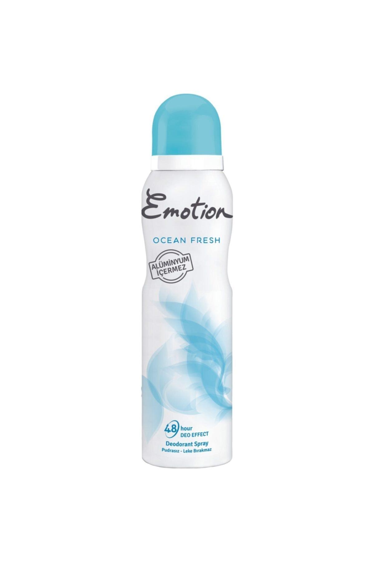 Emotion Ocean Fresh Kadın Sprey Deodorant 150 ml 1