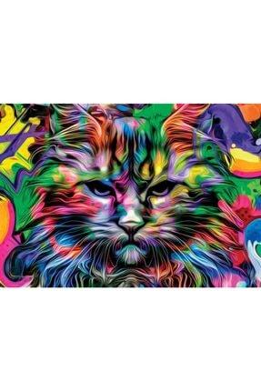 Nova Puzzle 1000 Parça Kızgın Bakışlar Puzzle - Kedi Puzzle