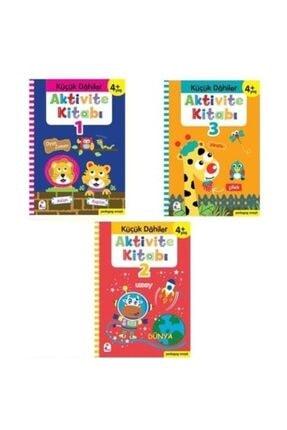 İndigo Çocuk Küçük Dahiler Aktivite Seti 4+ Yaş 3 Kitap Takım  Okul Öncesi