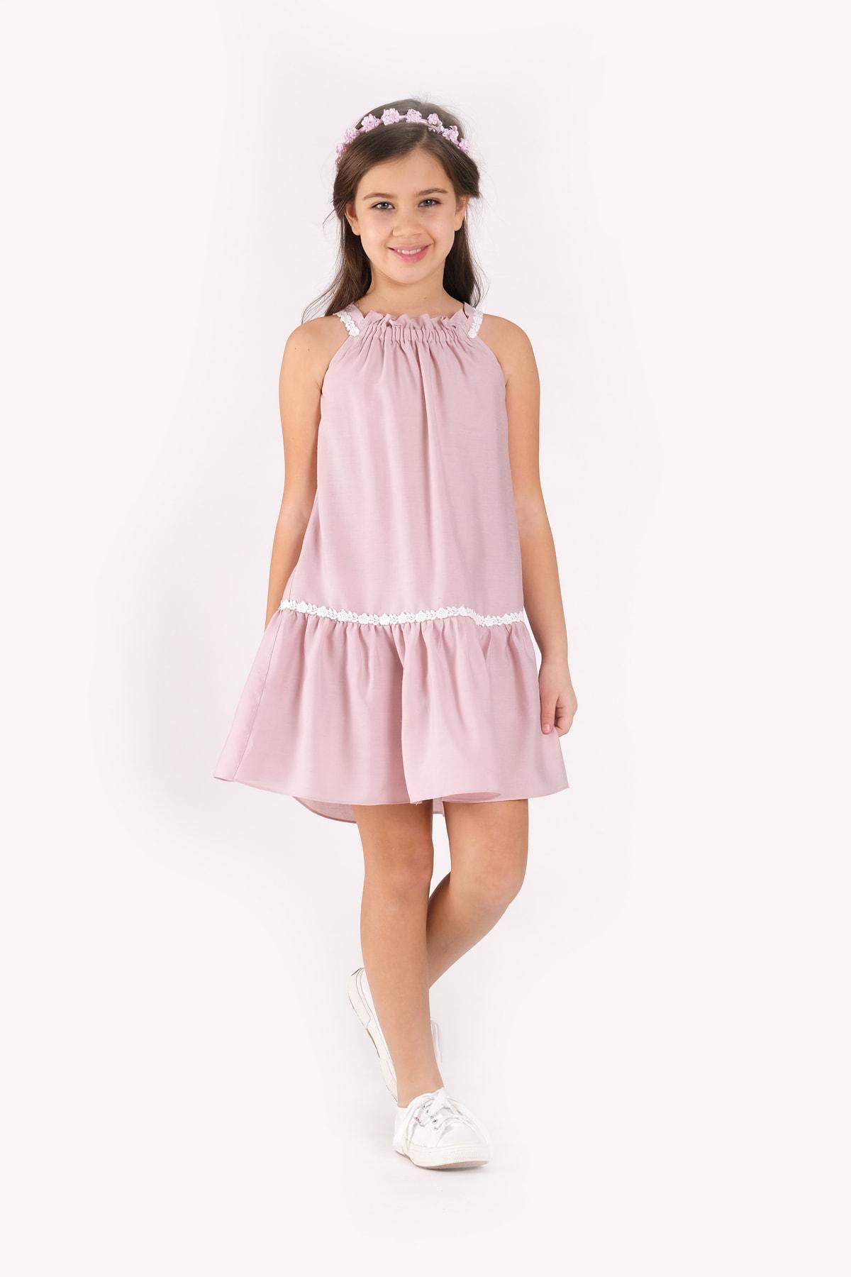 SheShe Kız Çocuk Elbise 1